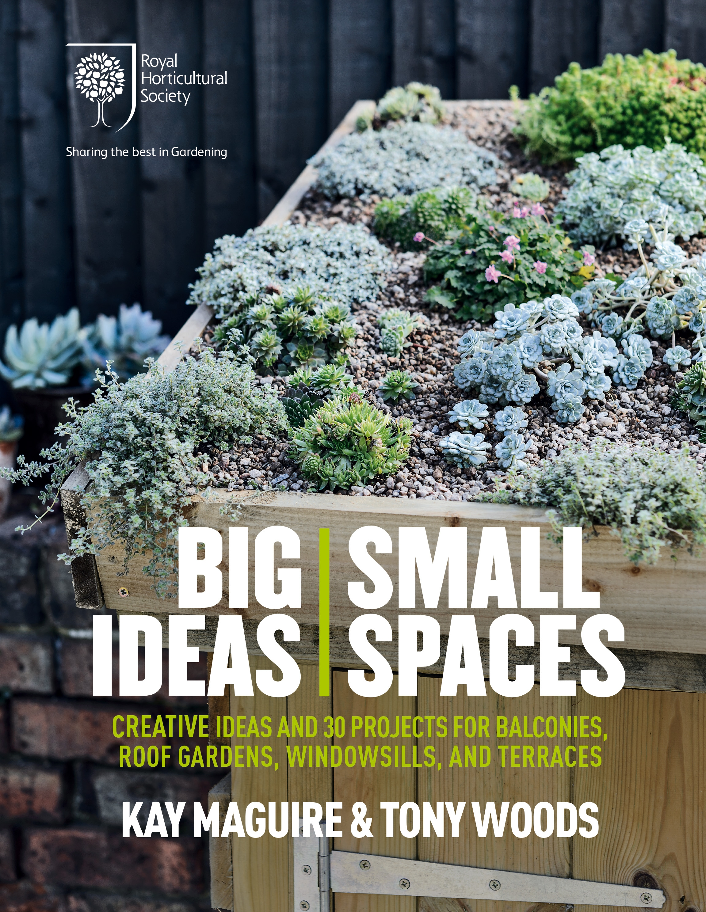 Rhs Big Ideas Small Spaces By Kay Maguire The Home Of Non Fiction Publishing