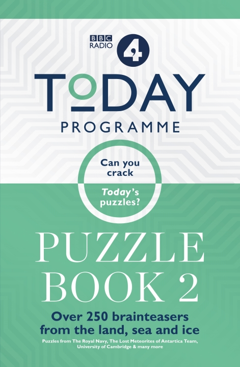 Today Programme Puzzle Book 2 by | THE HOME OF LIFESTYLE PUBLISHING