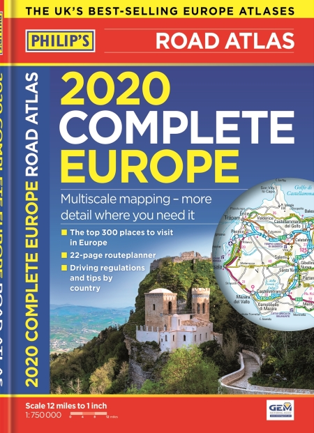 Home Selling Tips 2020.2020 Philip S Complete Road Atlas Europe